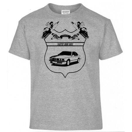 img-T-Shirt, 635 Csi, German Classic Style, Pinup, Car, Oldtimer, youngtimer