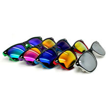 Wholesale Lots 12 Pairs 80S Retro Classic Sunglasses With Colorful Lens UV400