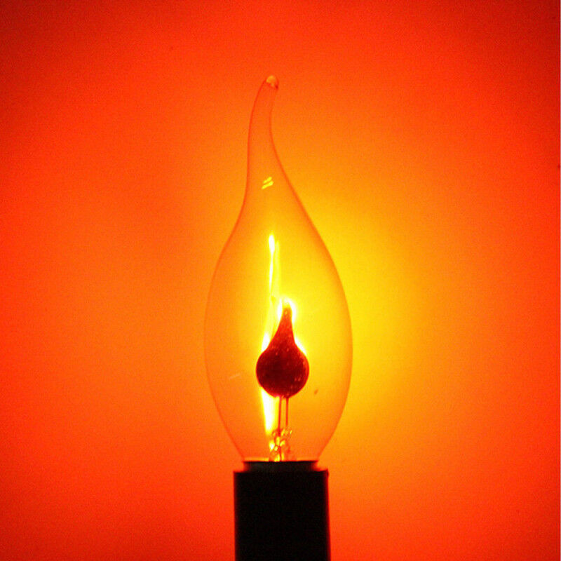 1pc E14 Led Flicker Fire Flame Candle Effect Burning Light