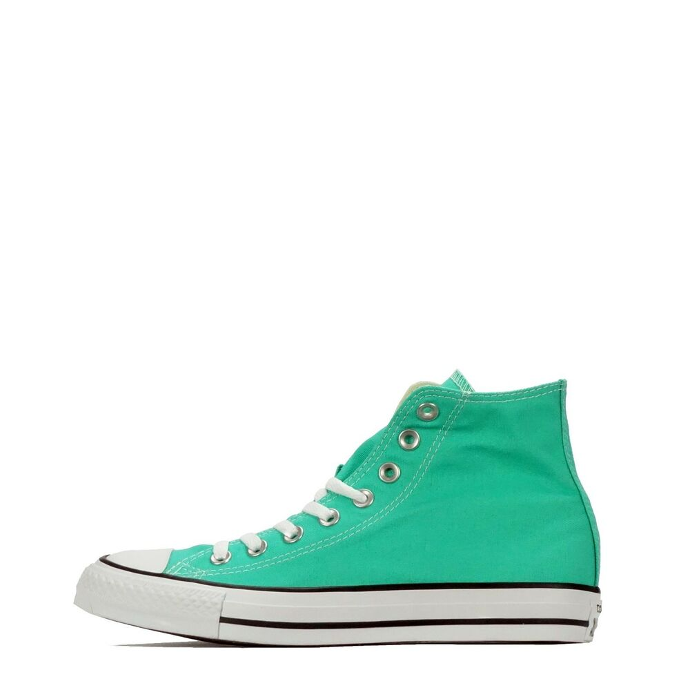 c2bb8dc7b23f3 Details about Converse Chuck Taylor All Star Classic Hi Top Unisex Lace up  Shoes Menta Green