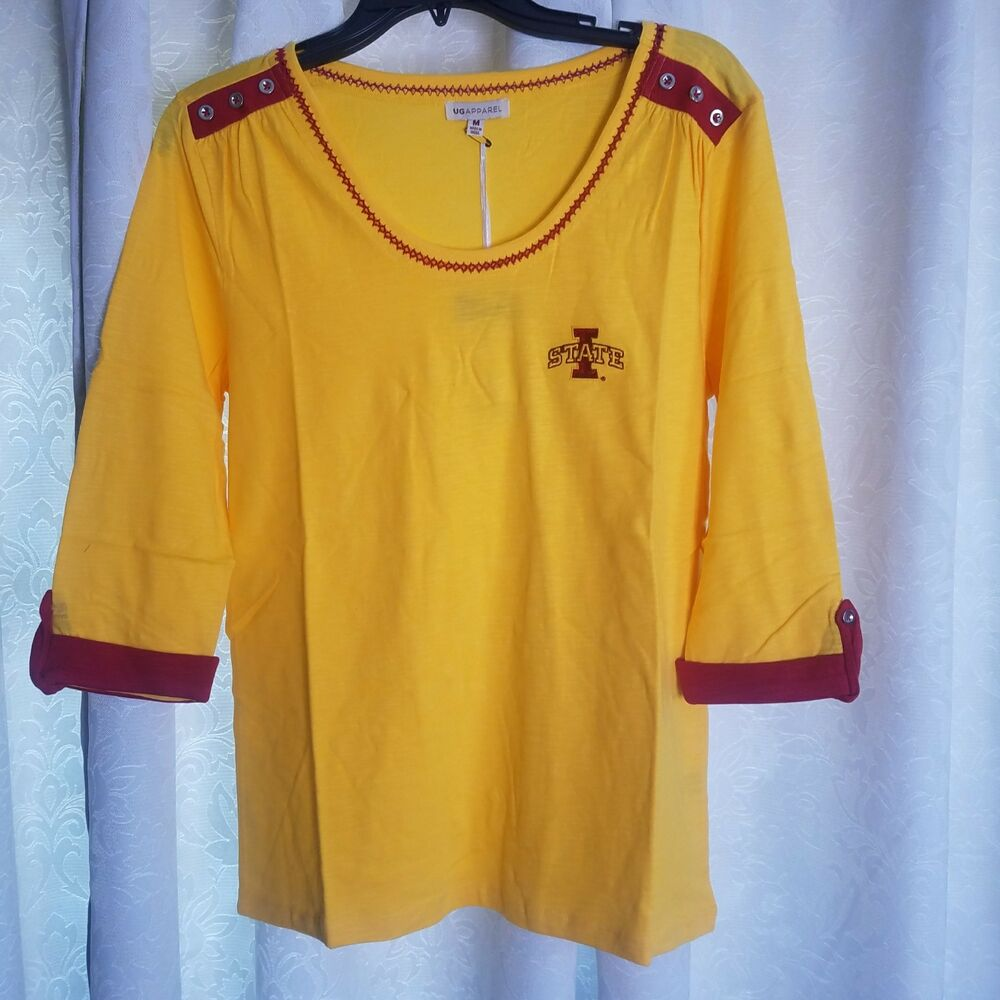 Details about New Women s Iowa State Cyclones UG Apparel Logo Shirt   Top  Size Medium aff8a9e7a5a1