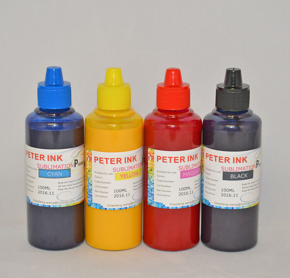 4X100ml Sublimation Ink For Epson WorkForce WF-2660 WF