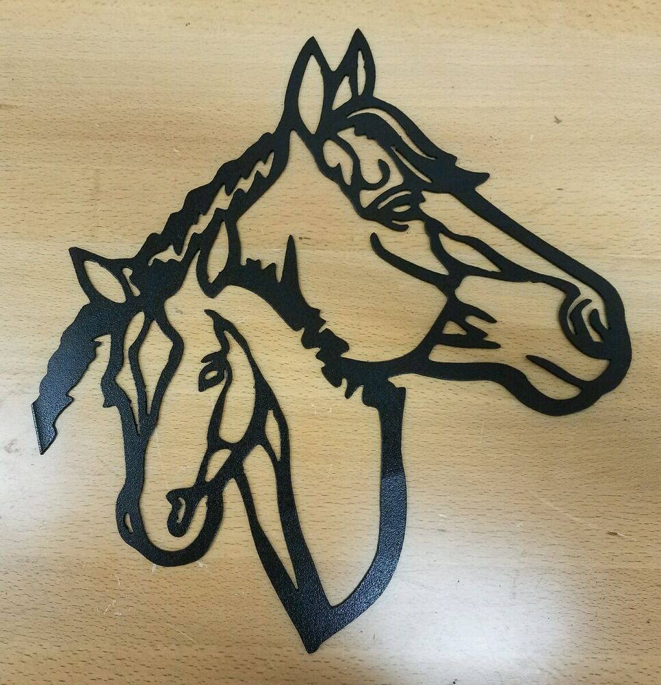 Old Fashioned Metal Horse Wall Art Motif - Wall Art Collections ...