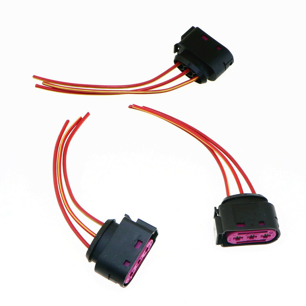 details about qty 3 original fuse box cable harness plug for audi a3 s3 vw  golf 4 1j0 937 773