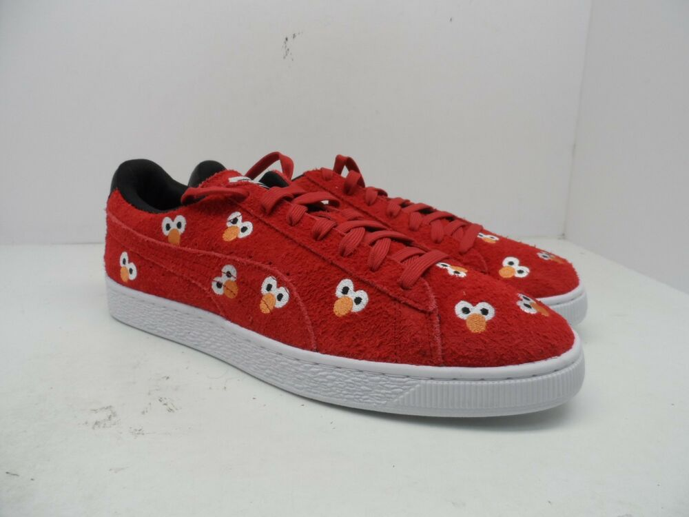 a092056bf0b9 Details about Puma Men s x Sesame Street Pack Classic ELMO Casual Shoe Red  Size 12M