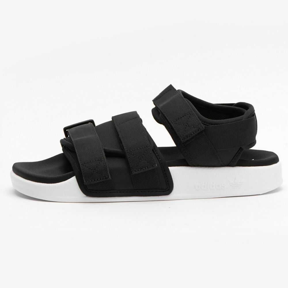 Details about  adidas  ADILETTE SANDAL W BLACK WHITE S75382 Women s Sandal  Free Tracking 7070487eb