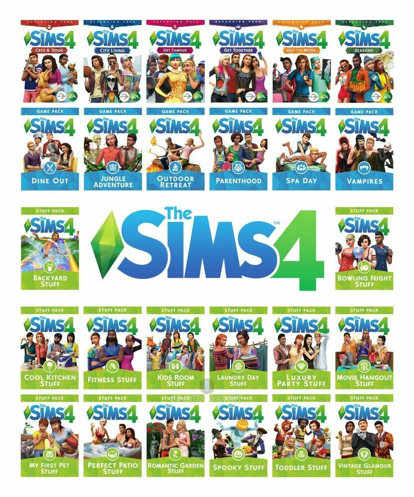 List of The Sims video games
