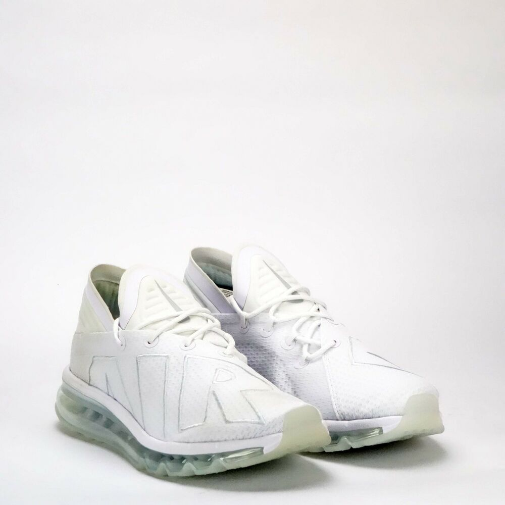 uk availability 63b3e 6ac71 Details about Nike Air Max Flair Mens Shoes WhitePure Platinum Ex  Displayed