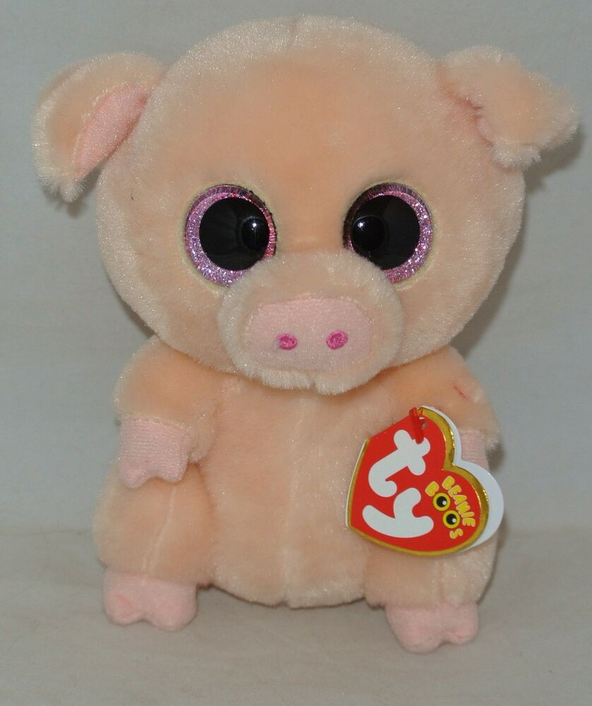73ada0e0b68 NEW VERSION! Ty Beanie Boos PIGGLEY the Pig 6