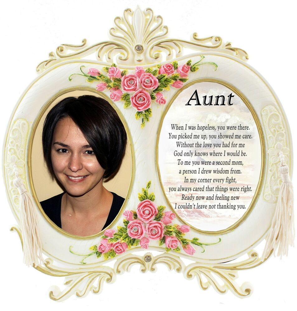 Aunt - Gift Family Occasion - Personalised Frame Incl. Gift Box | eBay