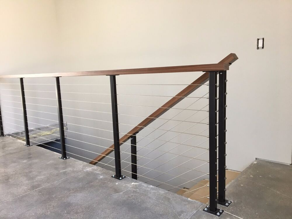 Deck Railing Post For Cable Railing Ebay