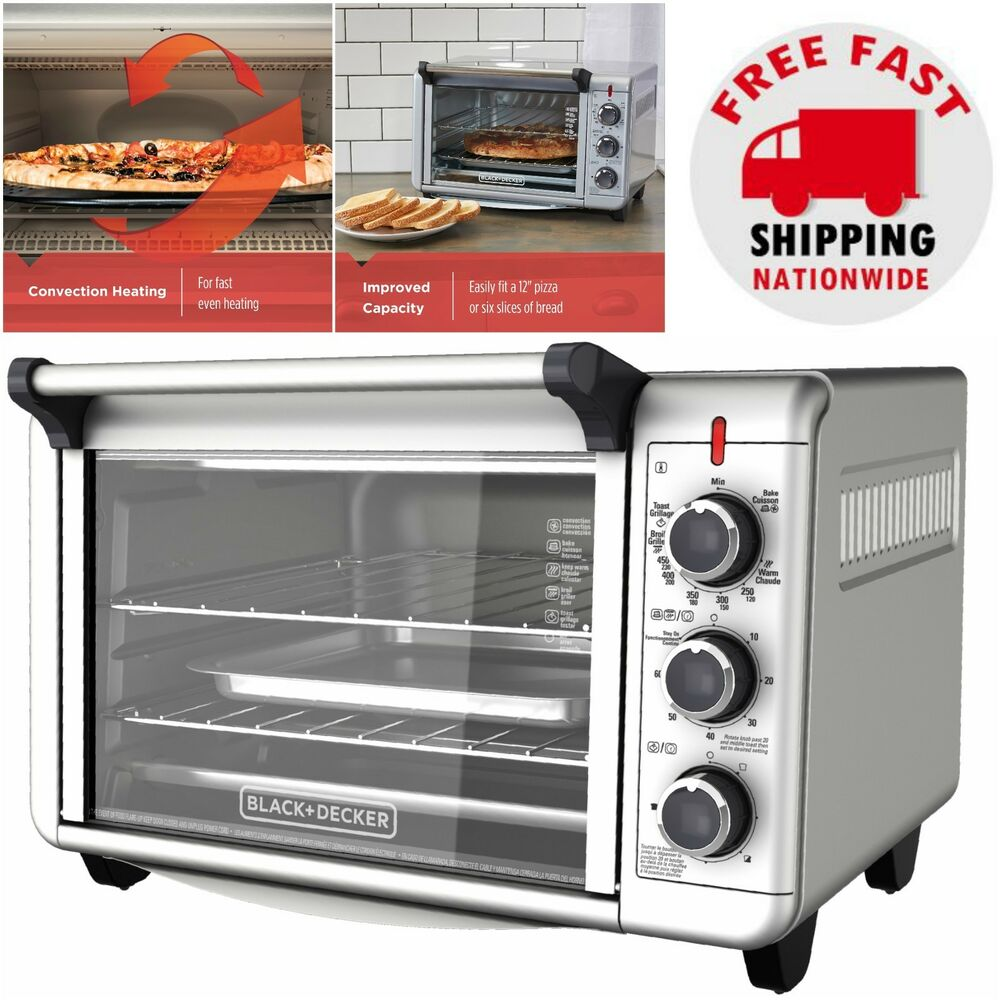 Countertop Convection Oven Pizza Toaster Cooking Baking ...