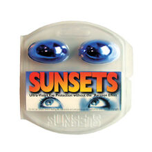 Tanning Bed Eyewear Goggles California Tan Sunsets - One Pair - Free Shipping!