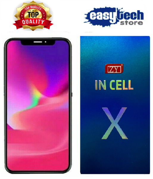 DISPLAY LCD Schermo x iPhone X 10 In-Cell TIANMA Originale Touch Screen HD NERO