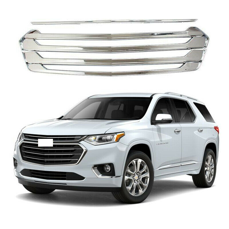 For 2018 2019 Chevrolet Traverse Front Grill Snap On