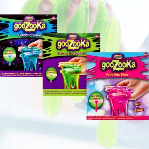 Slime Kit-Make Your Own Glactic,Fairy Tale,Glow in the Dark Slime
