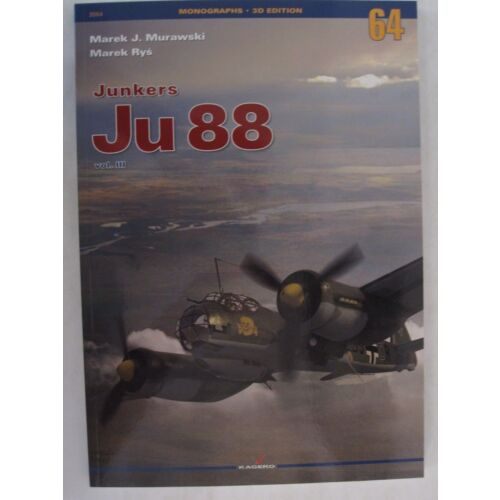 junkers-ju-88-volume-3-monographs-3d-edition-by-kagero