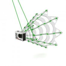 SkyBean ChaseCam for Paragliding and Paramotoring - fits the Hero 5, 6 and 7