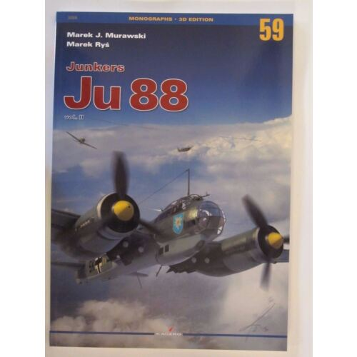 kagero-book-junkers-ju-88-vol-ii-painting-schemes-96-archive-photos-120-pg