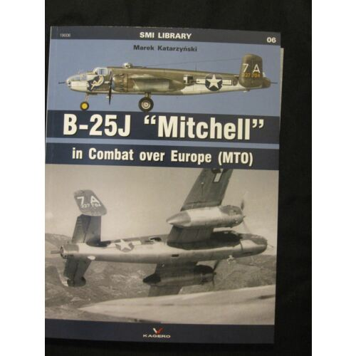 kagero-book-b25j-mitchell-in-combat-over-europe-mto-comes-with-decals