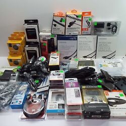 Kyпить LOT OF ELECTRONIC ACCESSORIES - 71 PCS - INSIGNIA / GE / GRIFFIN / PHILIPS (T83) на еВаy.соm