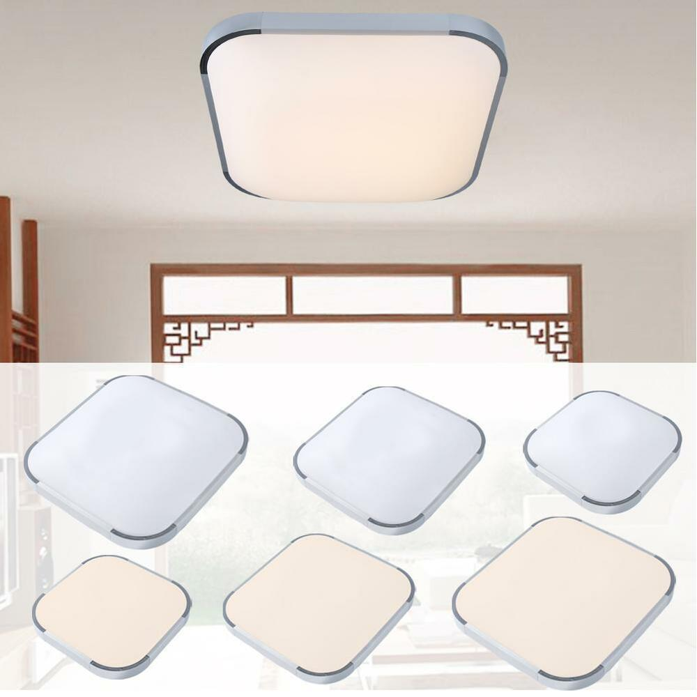 48w Flush Mount Led Pendant Light Ceiling Lamp Bedroom: 18W 36W 48W Modern Flush Mount LED Ceiling Light Pendant