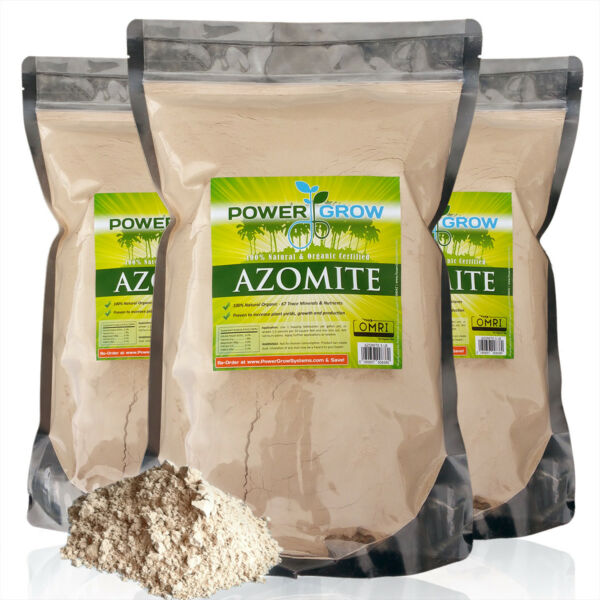AZOMITE in Bulk - 100% Pure Azomite (20 Pounds) Rock Dust - Authorized Dealer