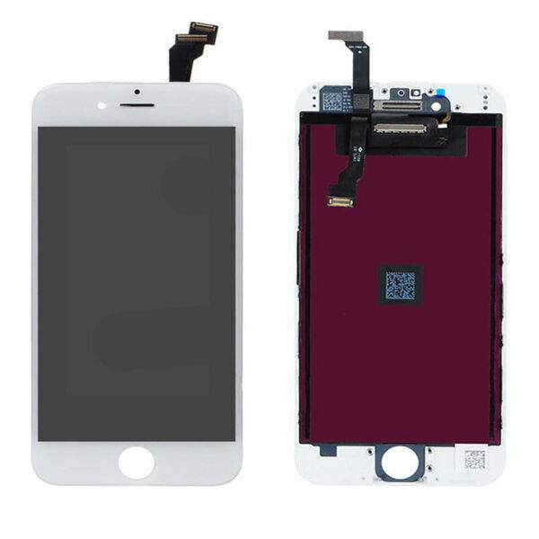 PER APPLE TOUCH SCREEN IPHONE 6 LCD DISPLAY RETINA FRAME VETRO SCHERMO BIANCO
