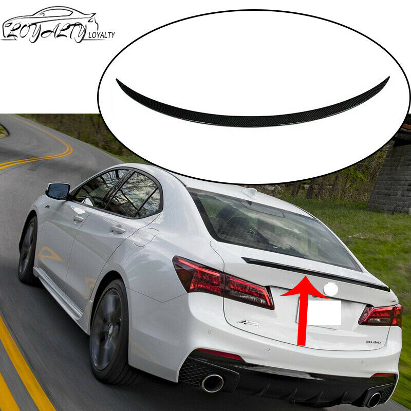 Rear Trunk Spoiler Wing For 2015-2018 Acura TLX Sedan ABS
