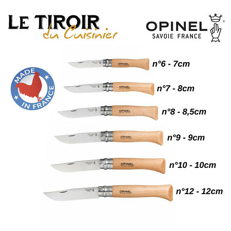 img-Opinel – Couteau pliant Tradition lame INOX NEUF