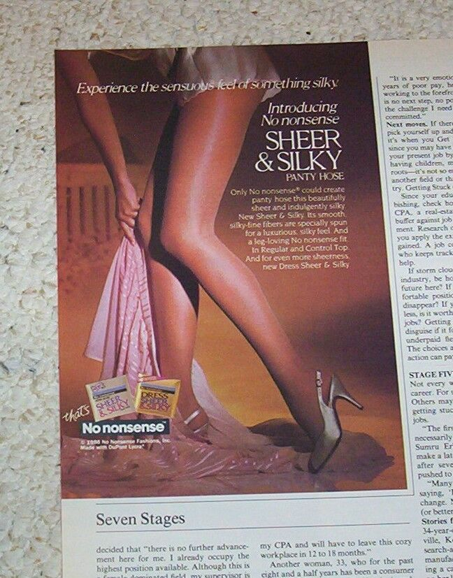 Storms pantyhose have even #10