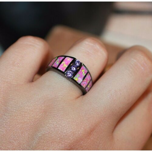 pink-fire-opal-cz-ring-gemstone-black-gold-filled-jewelry-7-825-wedding-band-h6
