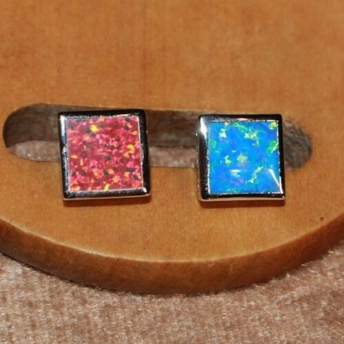 fire-opal-earrings-gemstone-silver-jewelry-square-classic-cocktail-stud-h65