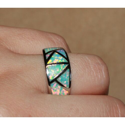 inlaid-fire-opal-ring-gemstone-silver-jewelry-625-75-9-wedding-cocktail-band-j