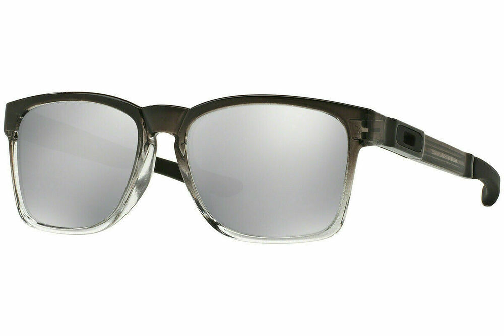 b049425db1d Details about Authentic Oakley CATALYST DARK INK FADE Chrome Iridium  Sunglasses OO9272-18