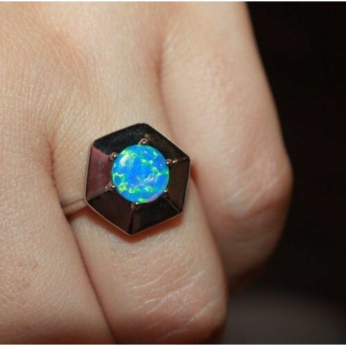 fire-opal-ring-gemstone-silver-jewelry-sz-6-65-modern-engagement-cocktail-band-