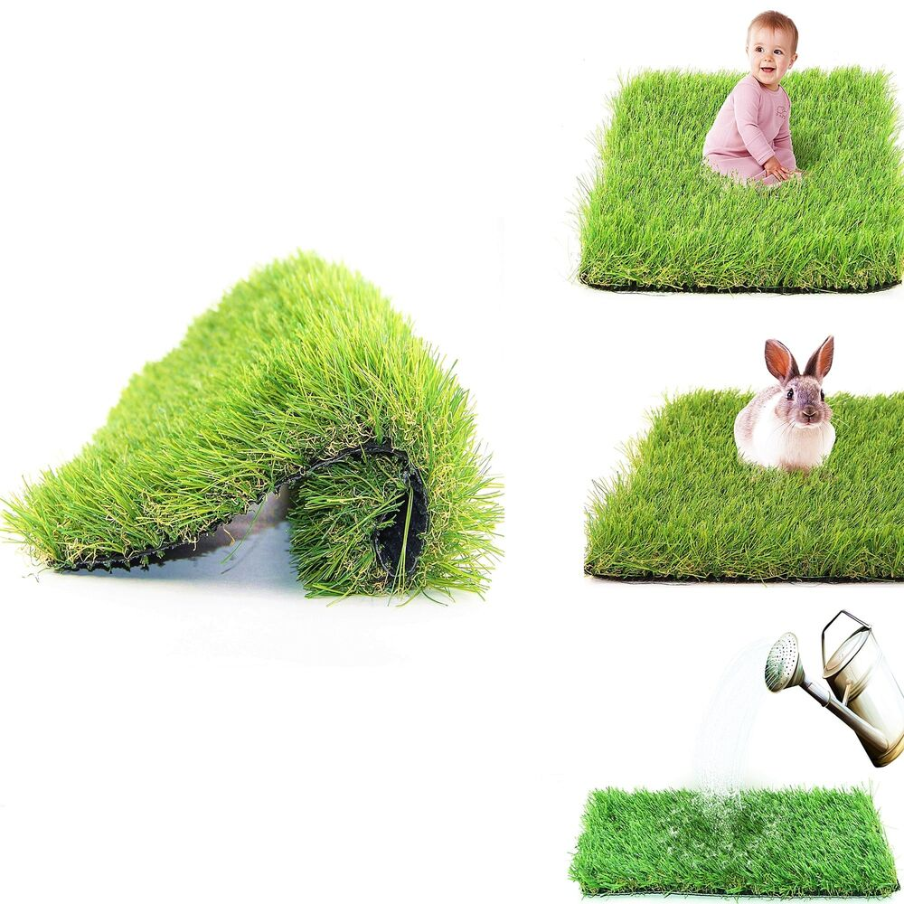 1 77 Height Artificial Grass Carpet Synthetic Turf Indoor Outdoor