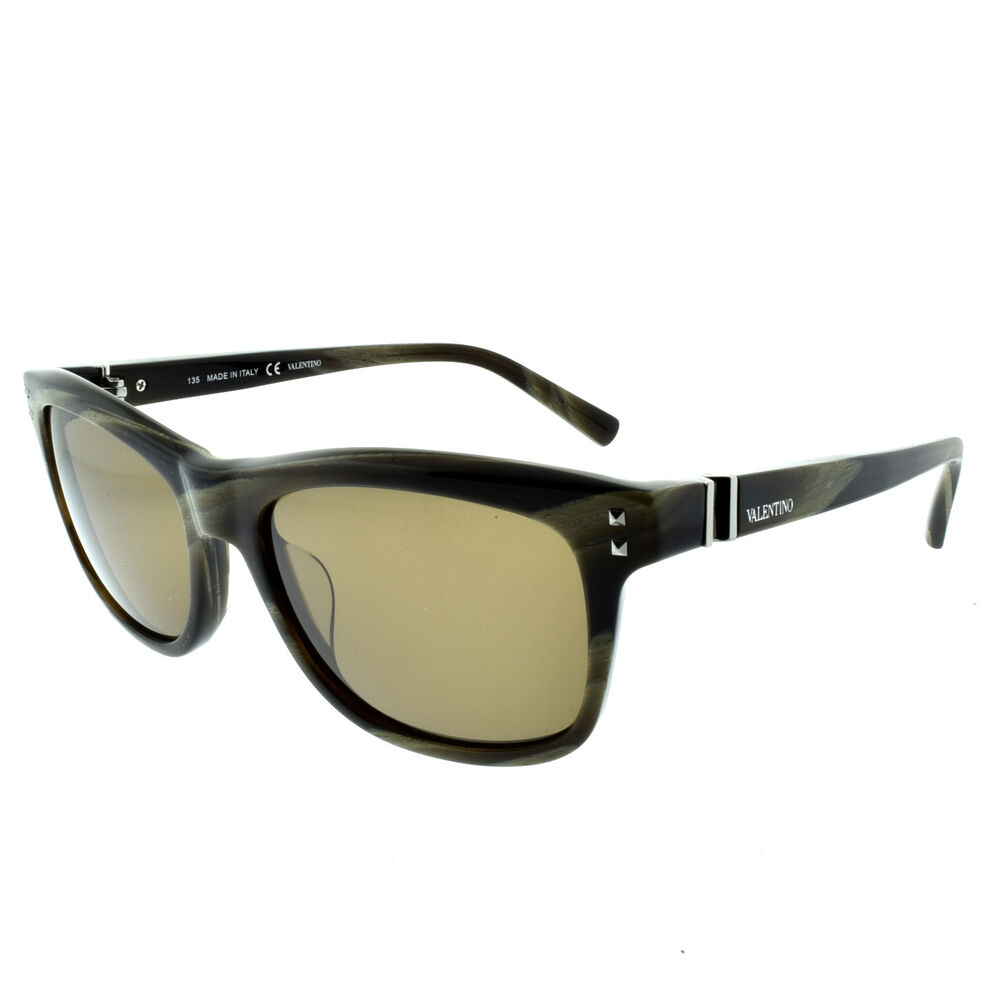 e79cafefa93f Details about Valentino V653S 305 Studded Square black Green Marble  Sunglasses