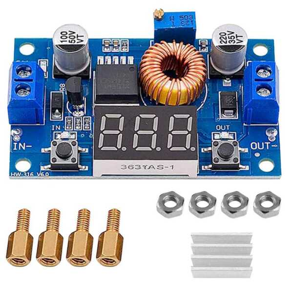 DC-DC Step Down Adjustable Buck Converter Module Power Supply 1.25-36,5V XL4015