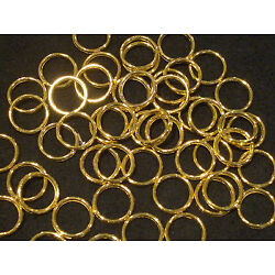 100 Roman Shade Sew On Brass Rings, Cord Guide, Tie Backs & Crafts Free Shipping