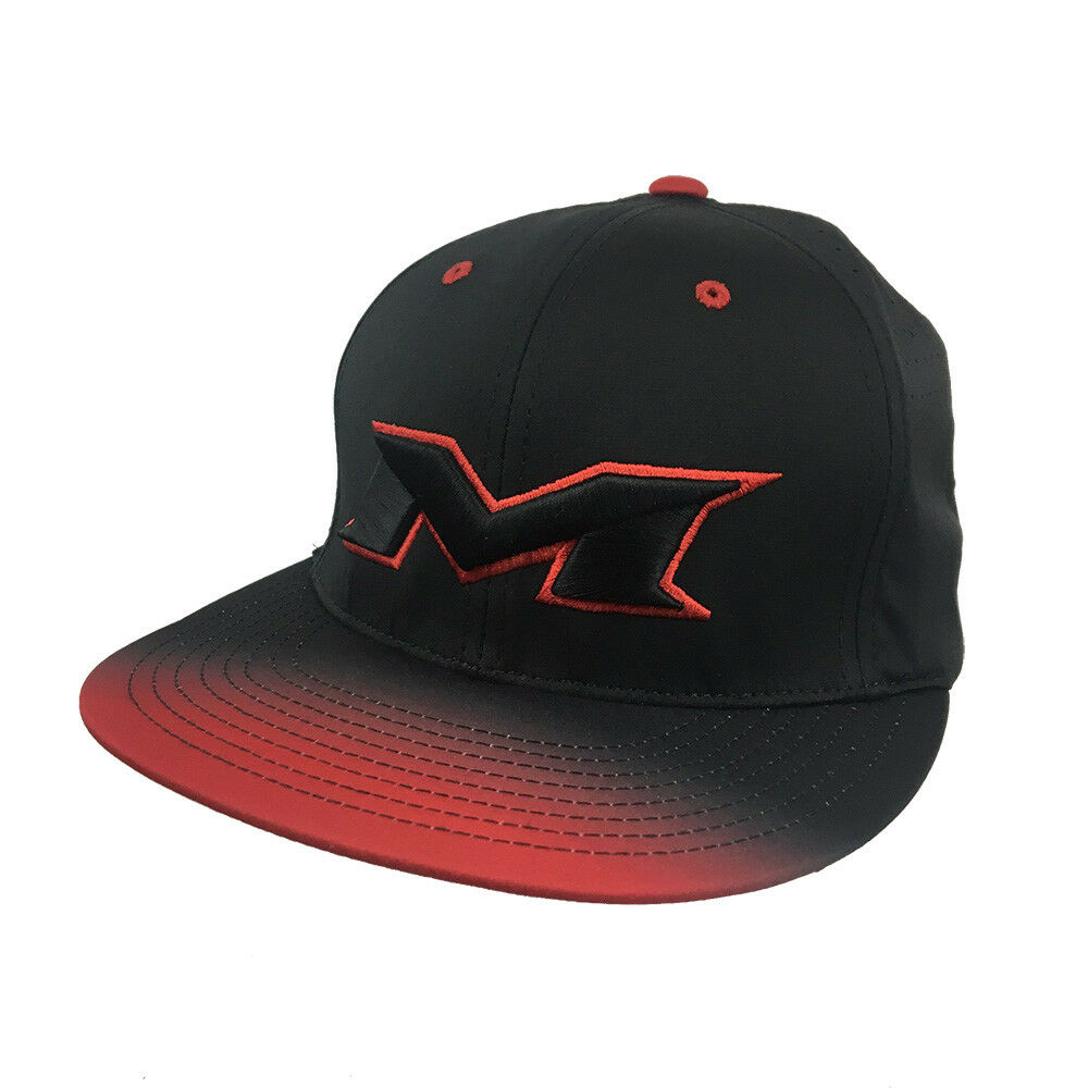 Details about Miken Fade to Black Hat by Richardson (PTS30)  Red Black Red Black SM MD 3d4e5b7dc44