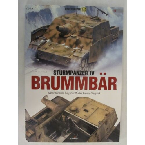 sturmpanzer-iv-brummbaer-book-by-kagero-112-pages-sc
