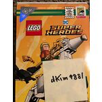 San Diego Comic con SDCC Lego Aquaman and Storm exclusive set in hand