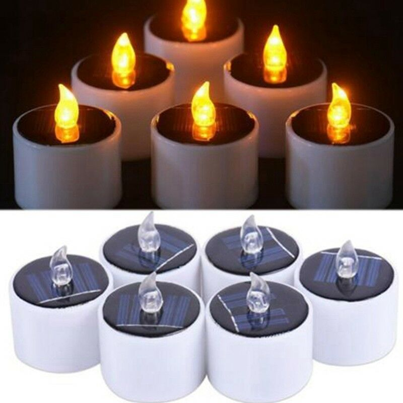 1x Solar Candle