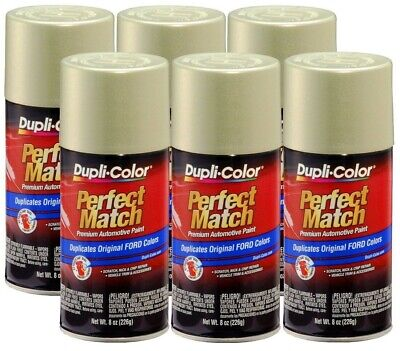 DupliColor Gold Ash Metallic Ford (C2) 8 oz. Spray Paint (Pack of 6)