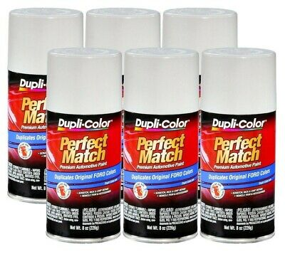 DupliColor Oxford White Ford (9L) 8 oz. Spray Paint (Pack of 6)