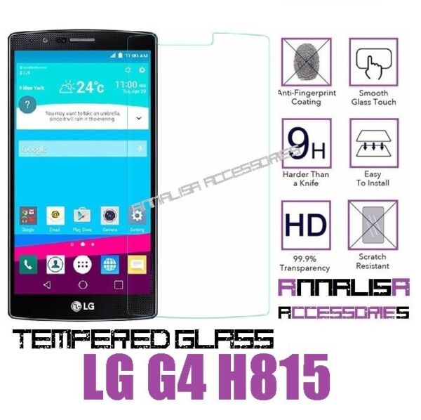 PELLICOLA IN VETRO TEMPERATO PER LG G4 H815 TEMPERED GLASS SCREEN PROTECTOR