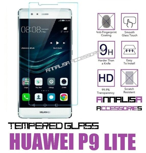 PELLICOLA IN VETRO TEMPERATO PER HUAWEI P9 LITE TEMPERED GLASS SCREEN PROTECTOR