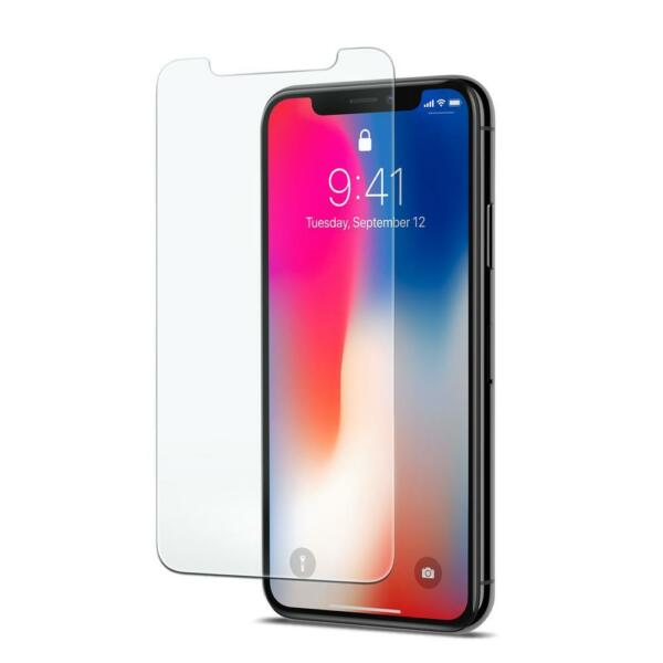 PELLICOLA IN VETRO TEMPERATO PER APPLE IPHONE X TEMPERED GLASS PROTEZIONE LCD