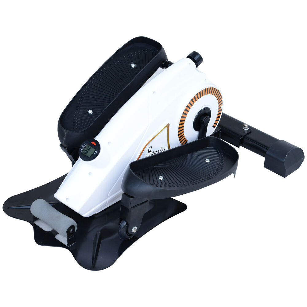 Adjustable Under Desk Elliptical Trainer Mini Elliptical Machine